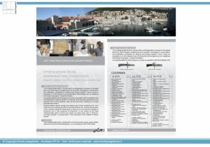Docenze - Dubrovnik 2005-2020