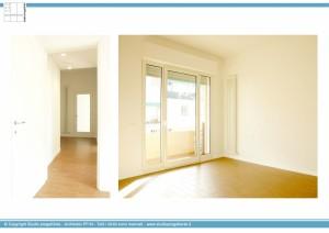 Appartamento A - Camera e disimpegno
