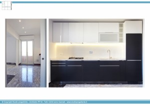 Appartamento B -Cucina