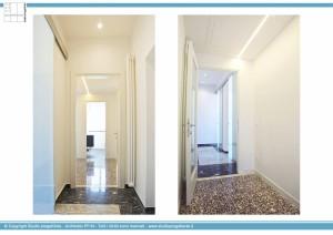 Appartamento B - Ingresso e corridoio