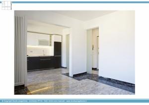 Appartamento B - Open space, salotto e cucina
